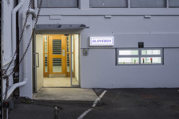eddie clemens screen used glovebox entrance